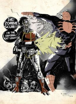 deathlok vs. scum by mytymark