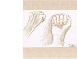 Hand study by onix1