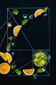 Golden ratio of summer drinks by dinabelenko