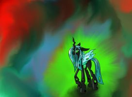 queen chrysalis by Munkari