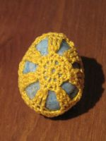 Crochet covered turquoise by dna-kun