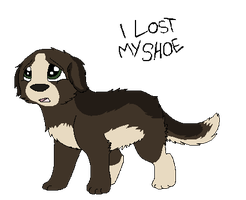 SPN Dogs - I Lost My Shoe by BanditKat