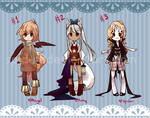 FREE Adoptables : Set 1 [CLOSED!] by Spidu
