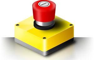 Emergency Stop Icon by mrd2345