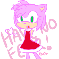 Amy Rose is here~ by Furana