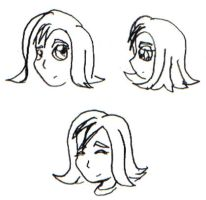 RahXephon: Asa's Faces by Terrichance