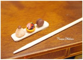 Dessert set of three 2 by Nassae