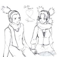 ShikaTema Version - Christmas Holiday Lineart by Kohaya7Kae-13