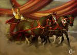 Graeco-Roman Chariot Racing Event - Entry by FeatherCandy