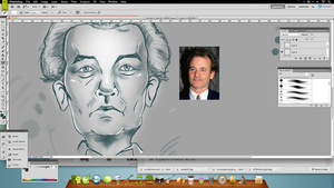 Drawing and painting with CS5 by gordonf98