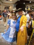 SDCC - Alice and Hatter by StephenBergstrom