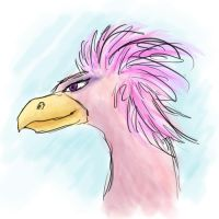 The Most Fabulous of Birds by EmpatheticFrog