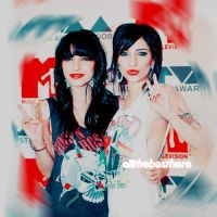 the veronicas Lol by allthebesthere