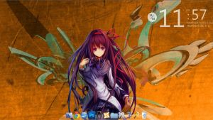 Rainmeter theme by Jellyfrog1