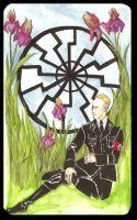 Heydrich tarot: Pentacle: Ace by hello-heydi
