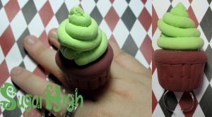 Big A$$ Cupcake Ring by TheSpazOutLoud