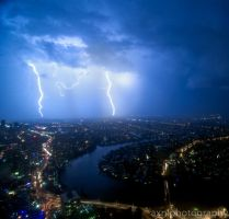 lightning by AXNLphotography