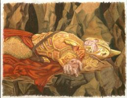 Death of Glorfindel by Vrolokya