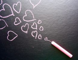 chalk_ in love by dragorien