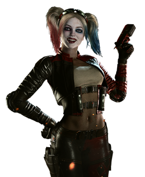 Injustice 2 Harley Quinn Wallpaper Render by The-Blacklisted