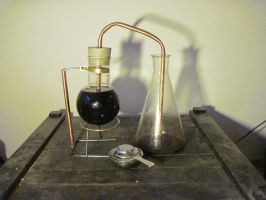 The Mk. I Vacuum Percolator by elShoggotho