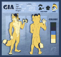 Gia Character Sheet by WindWo1f
