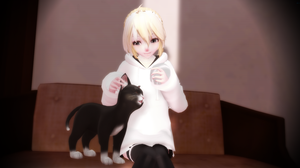 {MMD} Pretty Cat by Barteflai1