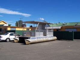 Pontoon Boat for Sale by slayer20