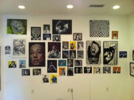 Long shot of my wall by Stencils-by-Chase
