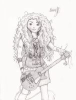 Merida in Rock ! by TenggerCavalry