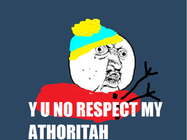 Cartman y u no by splover22