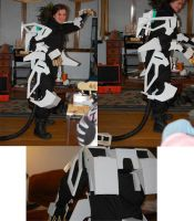 Liger 0 Cosplay WIP 3 by ShadowFox777