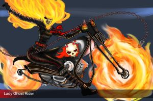 Battle Ghost Rider - day 126 by unsolvedenigma