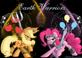 Earth Warriors by FlutterDash75
