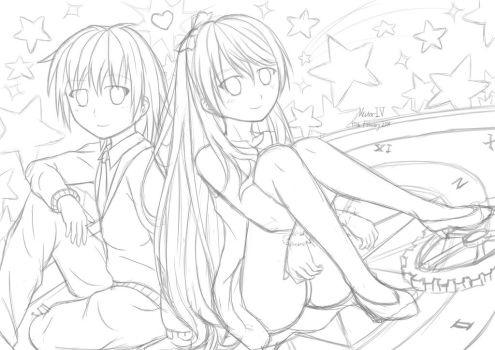 Golden Time, Literally (WIP) by VectorIV