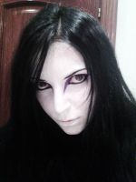 Upset Orochimaru makeup by DynastJC