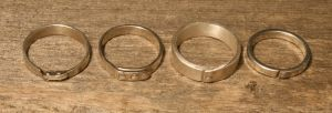 Various riveted rings by timjo