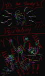 Happy Birthday Davey 2015 by Aniju-Aura