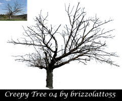 Creepy Tree 04 by Brizzolatto55