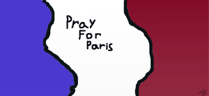 Tory Green supports Pray For Paris by torygreen