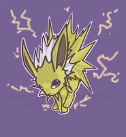 Jolteon Chibi by TreeTopFoxx