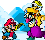 Mario VS Wario by doctorWalui