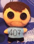 Youtubers - FourZer0Seven plushie by Jack-O-AllTrades