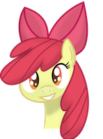 Smiling Apple Bloom by Dropple-RD