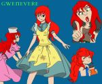 Gwenevere studies by pixichi