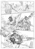 X-Force page 11 sample by CanalesComics