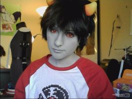 Karkat cosplay Update by AderuKittenCosplay