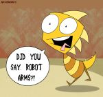 Robot arms by Foxbeast