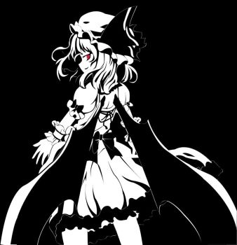 Black and White Remilia by Lordvaati3531