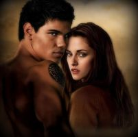 Bella and Jacob by blondexslytherin928